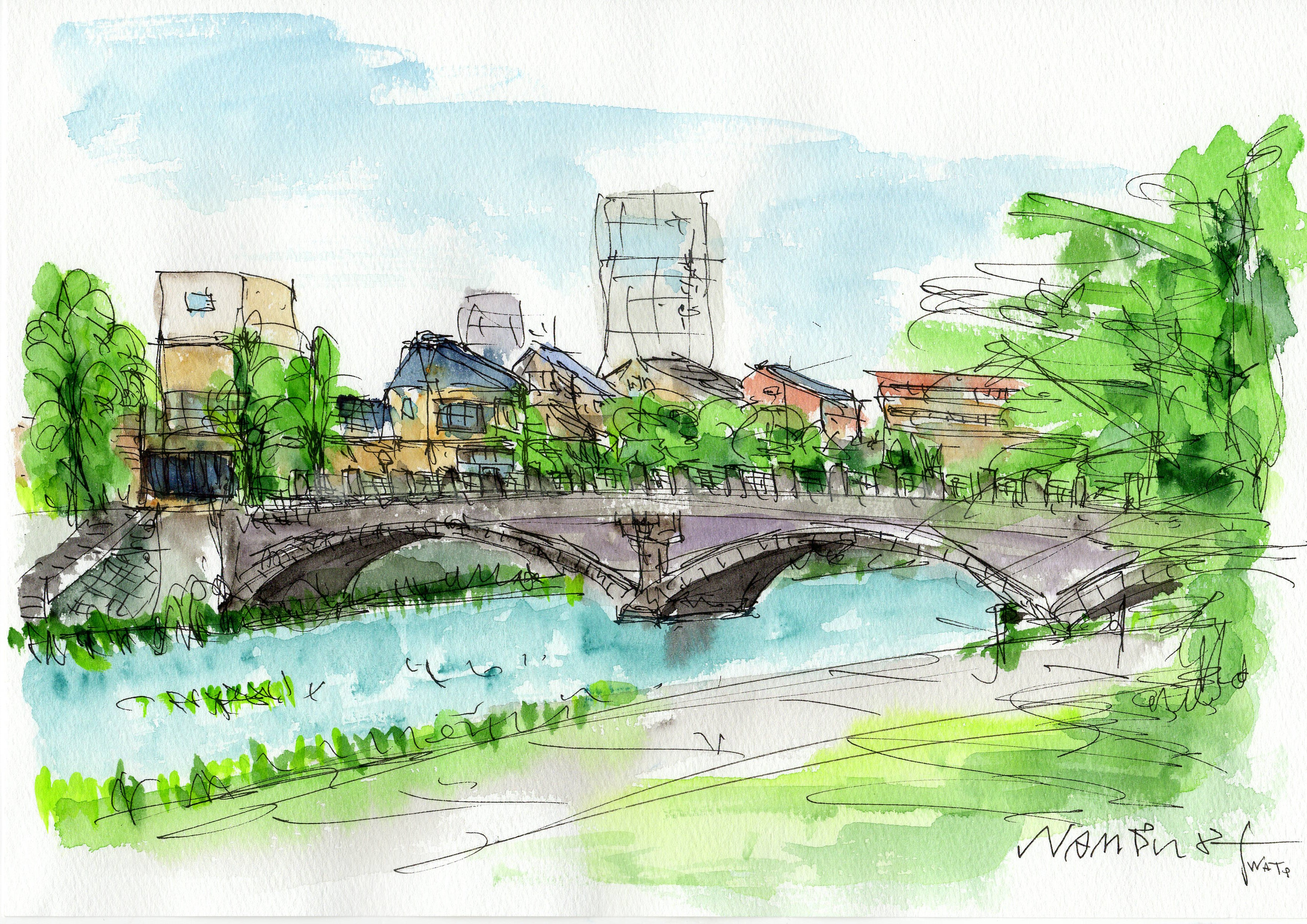 浅野川大橋(七つ橋)