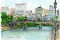 七つ橋(直登の冊子挿絵)